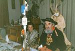 Die Beamten 1982: König Willi Wälti (mit seiner Frau Maria), Ober Max Berchtold, Under Anna Weibel, Näll Lisbeth von Moos