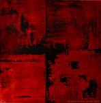 FIRE OF LOVE              60 x 60 cm