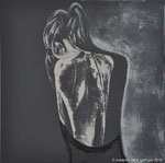 DEEP IN THOUGHT                    60 x 60 cm