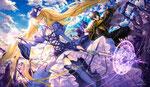 聖槍女アスティア&聖騎士グリフ