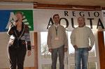 Présentation de l'open avec Bernard, Pierre et Mme la maire