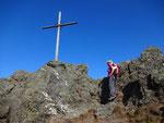 Kurz vorm Gipfel auf dem Osser-Südwestgrat