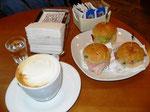 Frühstück im Caffé del Porto Riccione