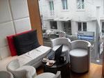 Arbeitsplatz am Nachmittag: Caffé Pascucci Riccione