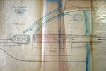 Plan pour fixation des limites du port de Saint-Julien, 27 avril 1894.