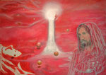 Time to turn - Acryl auf Holz - 100*70 cm - 2011