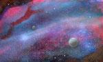 Universum 1 - Acryl auf Karton - 30*20 cm - 2013 - verkauft