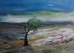 Hochmoor, Acryl auf Keilrahmen, 60x80 cm 220 Euro