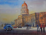 Havanna Capitol, 30x40 cm, 105 Euro unger.