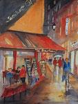 Paris Cafe bei Nacht, 30x40 cm 110 Euro