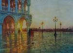 San Marco Kursarb. B. Klimmer 30x40 cm, 140 Euro ohne Rahmen