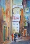 Florenz, Blick auf den Dom Aquarell 36x51 cm, 180 Euro ohne Rahmen, mit Rahmen 210 Euro
