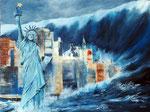 schlechtes Wetter oder Klimawechsel?, Acryl auf Keilrahmen 60x80 cm, 320 Euro