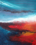 imaginäre Landschaft , Acryl auf Keilrahmen, 50x60 cm, 90 Euro