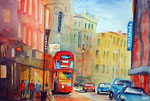 London City, 36x51 cm, 160 Euro unger.