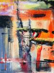 ohne Titel, Acryl auf Keilrahmen, 60x80 cm, Kursarbeit P. Seharsch 130 Euro