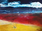 Ebbe, Acryl auf Keilr. 60x80 cm, 190 Euro