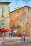 Florenz, Altstadt, Aquarell 36x51 cm, 150 Euro ohne Rahmen