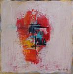 Summertime III, Acryl auf Keilrahmen, 30x30, Dreierset kompl. 150 Euro