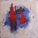 Farbspiel  II, Acryl auf Keilrahmen, 30x30 cm dreierset kompl 140 Euro