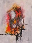 Emotionen, Mischtechnik auf Keilrahmen, 60x80 cm  vergeben