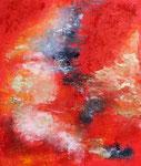 Aufwind in Rot, Acryl auf Keilrahmen, 60x70cm 85 Euro