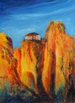Meteora, Acryl auf Keilr. 60x80 cm, 220 Euro