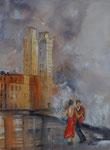 Tanz am Malecon, 31x41 cm, 100 Euro ungerahmt