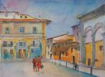 Florenz Piazza SS Annunziata, 30x40 cm, 140 Euro ohne Rahmen