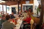 hinterher gabs leckere griechische Gerichte