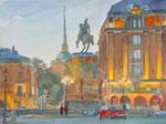 St. Petersburg, Aquarell 30x40 cm, Kursarb. B Klimmer, 160 Euro ohne Rahmen