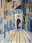 Lisboa Linie 28 /7, Acryl 60x80 cm, 280 Euro