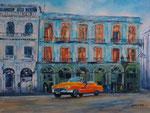 ein Amerikaner in Havanna, Acryl auf Keilrahmen, 60x80 cm, 260Euro