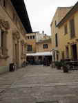 unser Malmotiv im schönen mittelalterlichen Alcudia