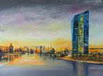 EZB, Acryl auf Keilr. 60x80 cm, 240 Euro