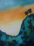 La Palma Ausblick Acryl auf Keilr. 60x80cm, 230 Euro