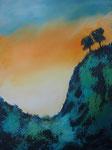La Palma Ausblick Acryl auf Keilr. 60x80cm, 240 Euro