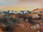 Cottages 30x40 cm, Kursarbeit B. Klimmer, 130 Euro ohne Rahmen