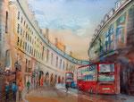 London Regent street 45x60 cm, 230 Euro