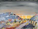 Ambachtalbrücke, Acryl auf Keilrahmen. 60 x 80 145 Euro