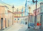 Camaguey, Kuba, 36x48 cm, 13 Euro ohne Rahmen