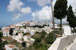 das Dorf Nikia auf Nissyros
