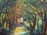Licht am Horizont, Acryl auf Keilrahmen, 60x80 cm 210 Euro