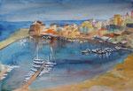 Castellanmare del Golfo, Hafen, 35x50 cm 140 Euro ohne Rahmen
