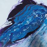 blue motion II, Acryl auf Keilr. 40x40 cm, 70 Euro