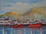 Dingle Hafen, 30x45 cm 120 Euro