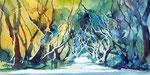 Licht und Schatten, 22x50 cm, vergeben
