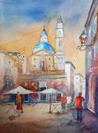 Genua, Piazza Matteotti, 45x61 cm 220 Euro