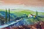 Toscana, 31x45 cm, 150 Euro ohne Rahmen