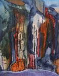 Los Organos, Fabriano Artistco 640, 38 x 48 cm 95 Euro unger.